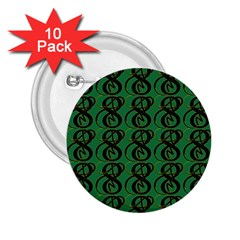 Abstract Pattern Graphic Lines 2 25  Buttons (10 Pack)