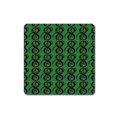 Abstract Pattern Graphic Lines Square Magnet