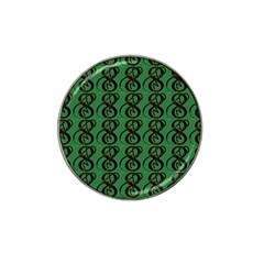 Abstract Pattern Graphic Lines Hat Clip Ball Marker