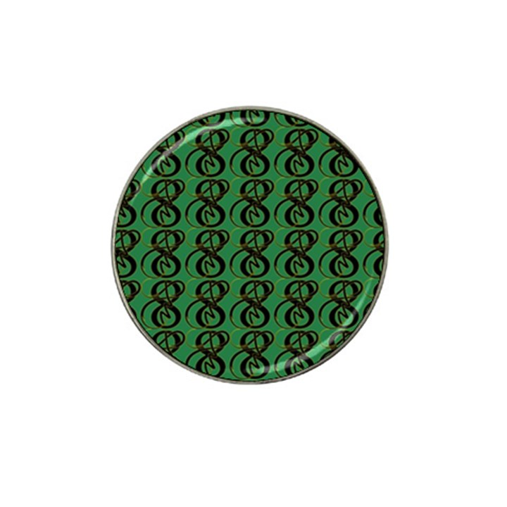 Abstract Pattern Graphic Lines Hat Clip Ball Marker (10 pack)