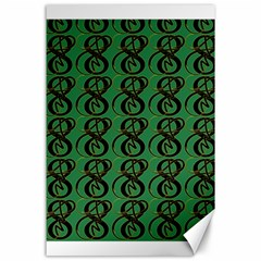 Abstract Pattern Graphic Lines Canvas 24  X 36