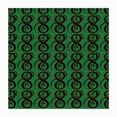 Abstract Pattern Graphic Lines Medium Glasses Cloth (2 Side)