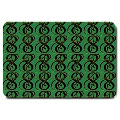 Abstract Pattern Graphic Lines Large Doormat