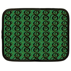 Abstract Pattern Graphic Lines Netbook Case (xxl)