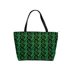 Abstract Pattern Graphic Lines Shoulder Handbags