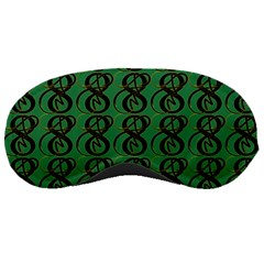 Abstract Pattern Graphic Lines Sleeping Masks