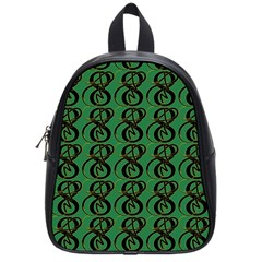 Abstract Pattern Graphic Lines School Bags (small)