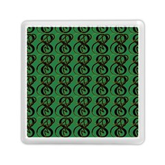 Abstract Pattern Graphic Lines Memory Card Reader (square)