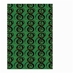 Abstract Pattern Graphic Lines Small Garden Flag (two Sides)