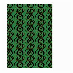 Abstract Pattern Graphic Lines Large Garden Flag (two Sides)