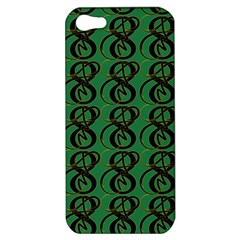 Abstract Pattern Graphic Lines Apple Iphone 5 Hardshell Case
