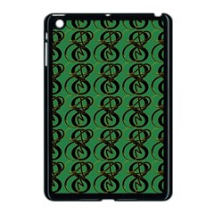 Abstract Pattern Graphic Lines Apple Ipad Mini Case (black)
