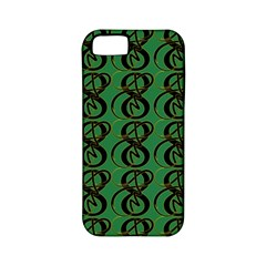 Abstract Pattern Graphic Lines Apple Iphone 5 Classic Hardshell Case (pc+silicone)