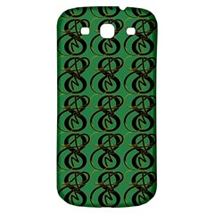Abstract Pattern Graphic Lines Samsung Galaxy S3 S III Classic Hardshell Back Case