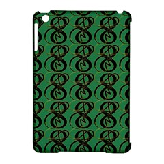 Abstract Pattern Graphic Lines Apple Ipad Mini Hardshell Case (compatible With Smart Cover)