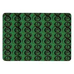 Abstract Pattern Graphic Lines Samsung Galaxy Tab 8 9  P7300 Flip Case