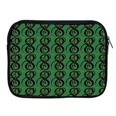 Abstract Pattern Graphic Lines Apple Ipad 2/3/4 Zipper Cases