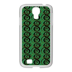 Abstract Pattern Graphic Lines Samsung Galaxy S4 I9500/ I9505 Case (white)