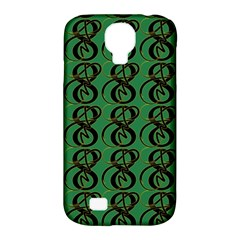Abstract Pattern Graphic Lines Samsung Galaxy S4 Classic Hardshell Case (PC+Silicone)