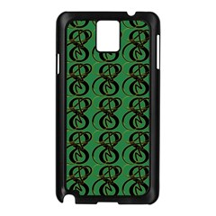 Abstract Pattern Graphic Lines Samsung Galaxy Note 3 N9005 Case (black)
