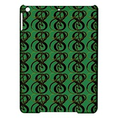 Abstract Pattern Graphic Lines iPad Air Hardshell Cases