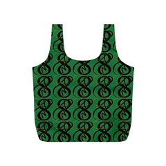 Abstract Pattern Graphic Lines Full Print Recycle Bags (S)