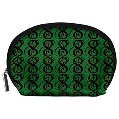Abstract Pattern Graphic Lines Accessory Pouches (Large)