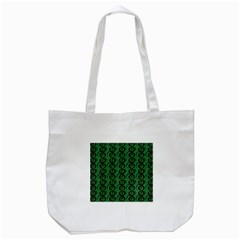Abstract Pattern Graphic Lines Tote Bag (white)
