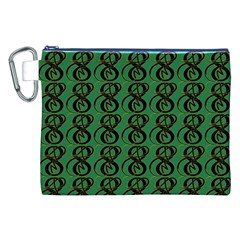 Abstract Pattern Graphic Lines Canvas Cosmetic Bag (xxl)