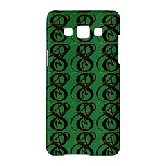 Abstract Pattern Graphic Lines Samsung Galaxy A5 Hardshell Case