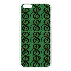 Abstract Pattern Graphic Lines Apple Seamless iPhone 6 Plus/6S Plus Case (Transparent)
