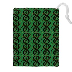 Abstract Pattern Graphic Lines Drawstring Pouches (xxl)