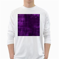Background Wallpaper Paint Lines White Long Sleeve T Shirts