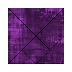 Background Wallpaper Paint Lines Acrylic Tangram Puzzle (6  X 6 )