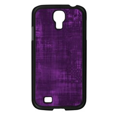 Background Wallpaper Paint Lines Samsung Galaxy S4 I9500/ I9505 Case (Black)