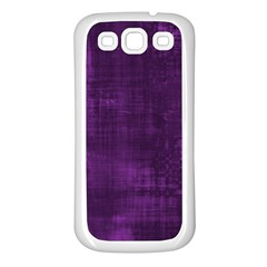 Background Wallpaper Paint Lines Samsung Galaxy S3 Back Case (white)