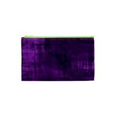 Background Wallpaper Paint Lines Cosmetic Bag (XS)