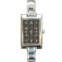 Line Geometry Pattern Geometric Rectangle Italian Charm Watch