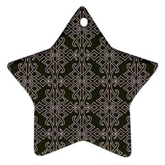 Line Geometry Pattern Geometric Ornament (Star)