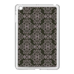 Line Geometry Pattern Geometric Apple Ipad Mini Case (white)
