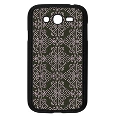 Line Geometry Pattern Geometric Samsung Galaxy Grand Duos I9082 Case (black)
