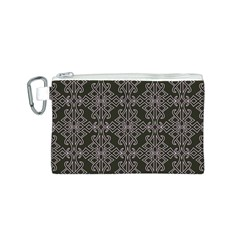 Line Geometry Pattern Geometric Canvas Cosmetic Bag (s)