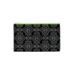 Line Geometry Pattern Geometric Cosmetic Bag (xs)