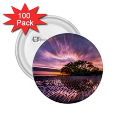 Landscape Reflection Waves Ripples 2 25  Buttons (100 Pack)