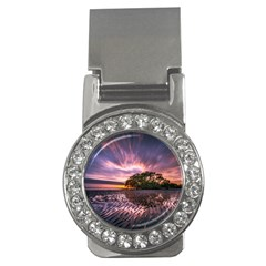 Landscape Reflection Waves Ripples Money Clips (cz)