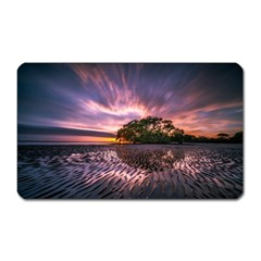 Landscape Reflection Waves Ripples Magnet (rectangular)