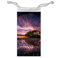 Landscape Reflection Waves Ripples Jewelry Bag
