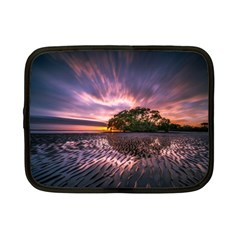 Landscape Reflection Waves Ripples Netbook Case (small)