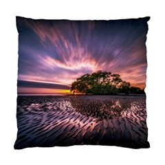 Landscape Reflection Waves Ripples Standard Cushion Case (one Side)