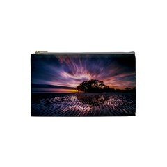 Landscape Reflection Waves Ripples Cosmetic Bag (small)